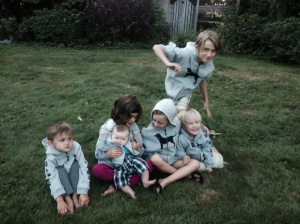 Sebastian, Sienna, Amaya, Rumi, Teo, Fisher